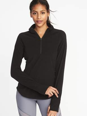 Old Navy Micro Performance Fleece 1/4-Zip Pullover for Women