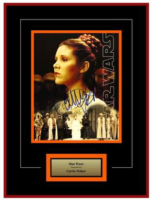 Star Wars FAIRCHILD PARIS Autographed by Carrie Fisher