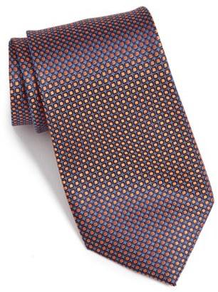 Men's Nordstrom Men's Shop 'small Neat' Geometric Silk Tie $49.50 thestylecure.com