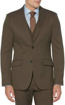 Perry Ellis Slim-Fit Plaid Suit Jacket