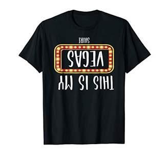 This is My Vegas Shirt Las Vegas Nevada Funny Gambling Shirt
