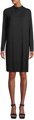 Eileen Fisher Lightweight Viscose Jersey Dress