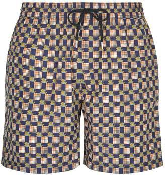 Burberry Check Swim Shorts
