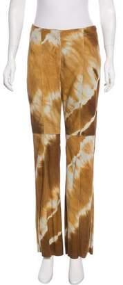 Beretta Printed Suede Pants
