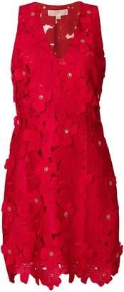 MICHAEL Michael Kors floral appliqué mini dress