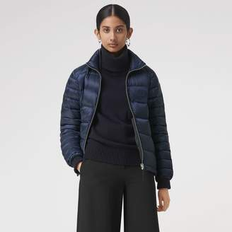 Burberry Down-filled Puffer Jacket , Size: S, Blue
