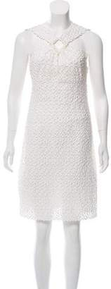 Peter Som Sleeveless Lace Dress