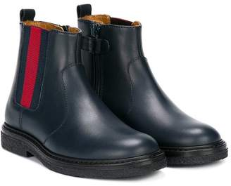 Gucci Kids stretch panel ankle boots