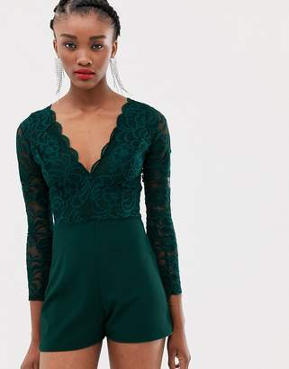 New Look romper in lace