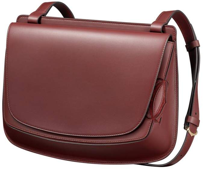 Must-C Leather Saddle Bag