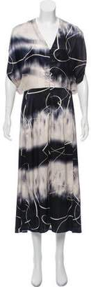Zero Maria Cornejo Wren Silk Dress