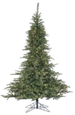 clear Fraser Hill Farms Smart String LED Pre-Lit Noble Fir Christmas Tree - 7.5 Ft.