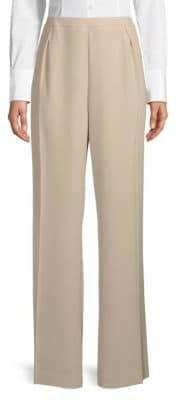Calvin Klein Single-Pleat Front Wide-Leg Pants