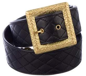 Chanel Quilted Belt