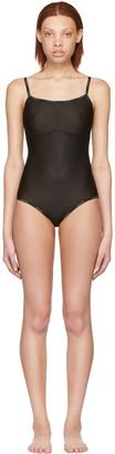 Calvin Klein Underwear Black Tank Bodysuit $60 thestylecure.com