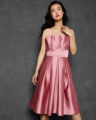 Ted Baker PIPPAA Pleated bodice full skirt dress