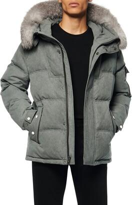 Andrew Marc Koriabo Down Jacket with Removable Genuine Fox Fur Trim