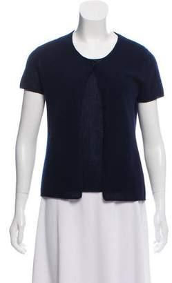 Chanel Cashmere Short Sleeve Cardigan Set