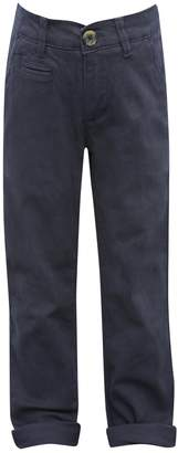 M&Co Navy chino trousers