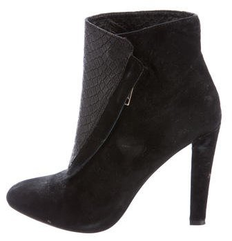 Rebecca MinkoffRebecca Minkoff Suede Pointed-Toe Ankle Boots