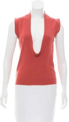 Marni Sleeveless Cashmere Top