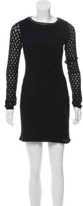 Diane von Furstenberg Long Sleeve Shift Dress