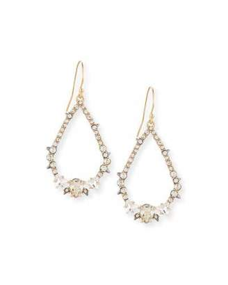 Alexis Bittar Crystal-Encrusted Spiked Earrings $125 thestylecure.com