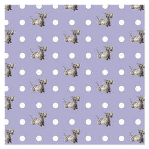 dottie scottie wrapping paper Self-Launch Wrapping Paper
