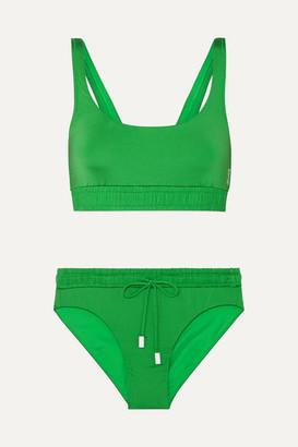 6381816ff6d Les Girls Les Boys - Track Bikini - Green