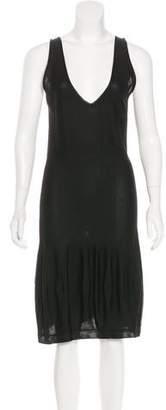 Saint Laurent Sleeveless Midi Dress w/ Tags