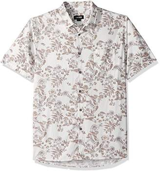 Zanerobe Men's Cotton Square Box Short Sleeve Shirt