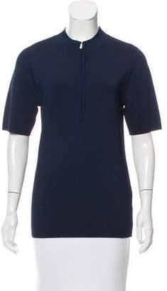 Jason Wu Mock Neck Short Sleeve Top w/ Tags