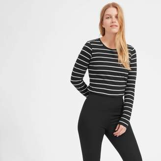 Everlane The Slim Cotton Long-Sleeve Crew
