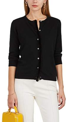 Lisa Perry Women's Mink-Fur-Trimmed Cashmere Cardigan