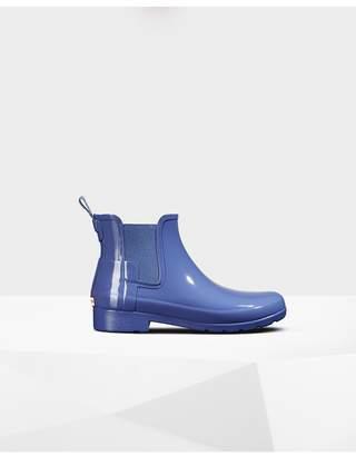 Hunter Womens Original Refined Chelsea Gloss Boots