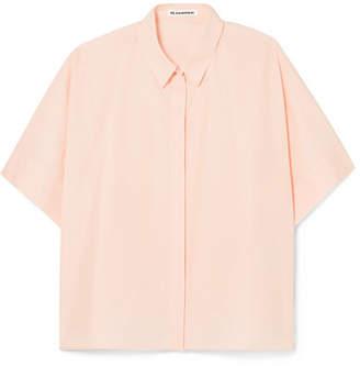 Jil Sander Cotton-poplin Shirt - Pink