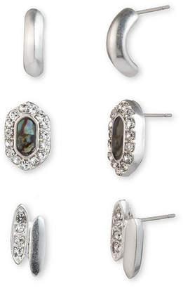 Chaps 3 Pair Earring Set