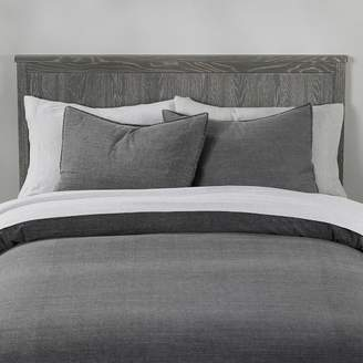 Pottery Barn Teen Vintage Washed Organic Cotton Duvet Cover, Twin/Twin XL, Dark Charcoal