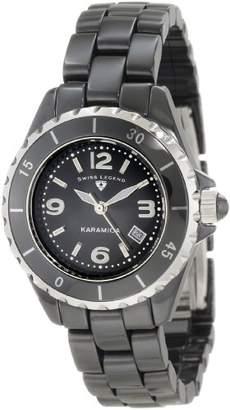 Swiss Legend Women's SL-10049-BKBSA Karamica Ceramic Watch