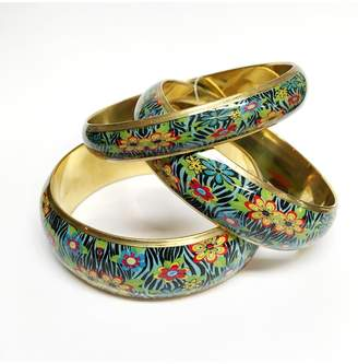 Worthwhile Wear Floral Bangle Set