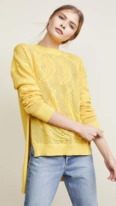 Sonia Rykiel Banana Textured Knit Sweater
