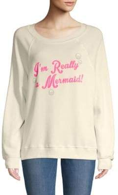 Wildfox Couture I'm Really A Mermaid Sweater