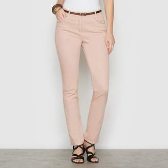 Anne Weyburn Stretch Cotton Trousers, Length 30.5""