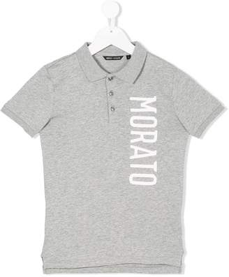 Antony Morato Junior logo-printed polo shirt