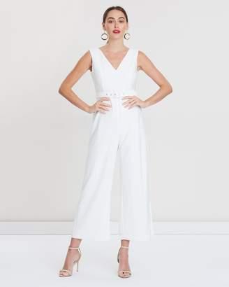 Bardot Cut-Out Jumpsuit