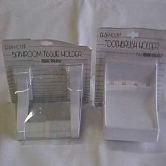 MAGIC MOUNTS 4584W Bath Tissue Holder 1PK WH