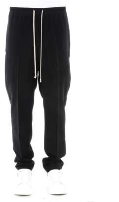 Rick Owens Black Virgin Wool Trousers