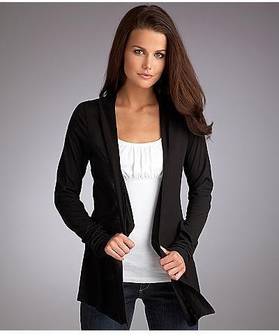 Splendid Very Light Jersey Cardigan Wrap Daywear