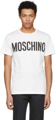 Moschino Off-White Logo T-Shirt