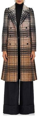 Missoni Women's Checked Wool-Blend Double-Breasted Coat